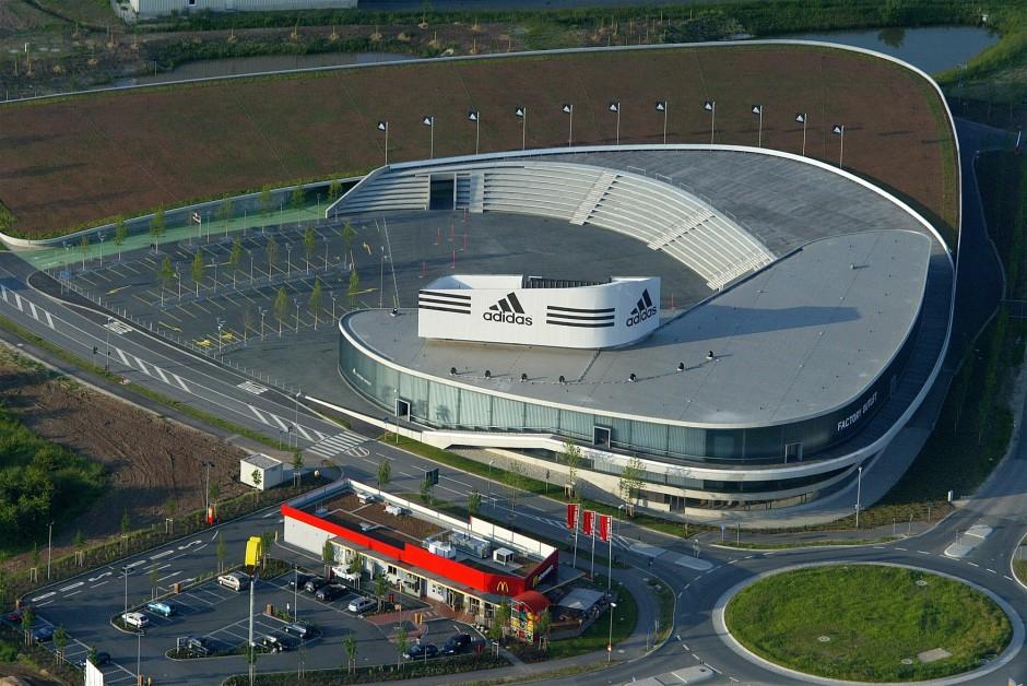 Adidas - factory-outlet-store | Wulf + Ass. Architekten-GmbH, Stuttgart | Herzogenaurach | adidas-Salomon AG | Prüfung | Dr. Kreutz+Partner - Beratende Ingenieure