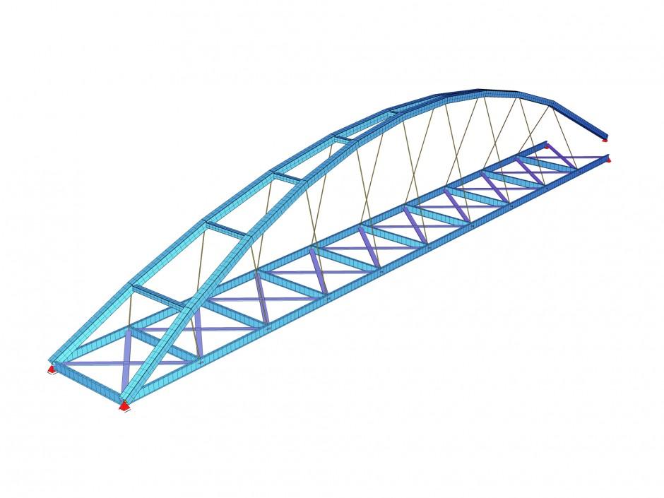 Honsellbrücke Frankfurt a. Main | Dr. Kreutz+Partner, Nürnberg / netzwerkarchitekten, Darmstadt | Frankfurt am Main Stadtteil Ostend und Sachsenhausen | Stadt Frankfurt am Main | Wettbewerbe, Brücken | Dr. Kreutz+Partner - Beratende Ingenieure