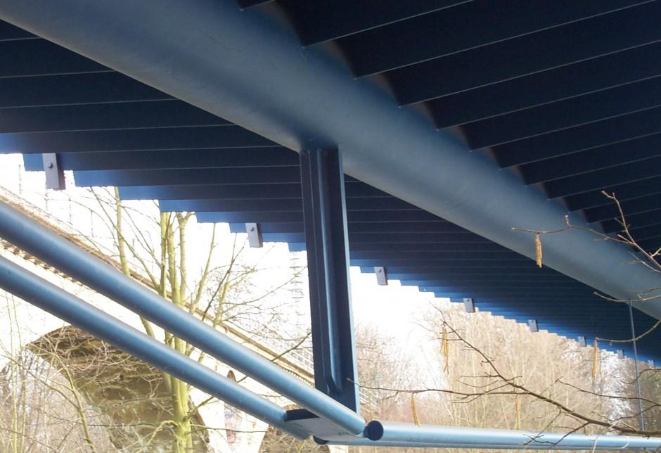 Geh- und Radwegbrücke an der Ringbahn | Dr.-Ing. D. Renner, Solnhofen | Nürnberg | Wasserwirtschaftsamt Nürnberg | Brücken, Prüfung | Dr. Kreutz+Partner - Beratende Ingenieure