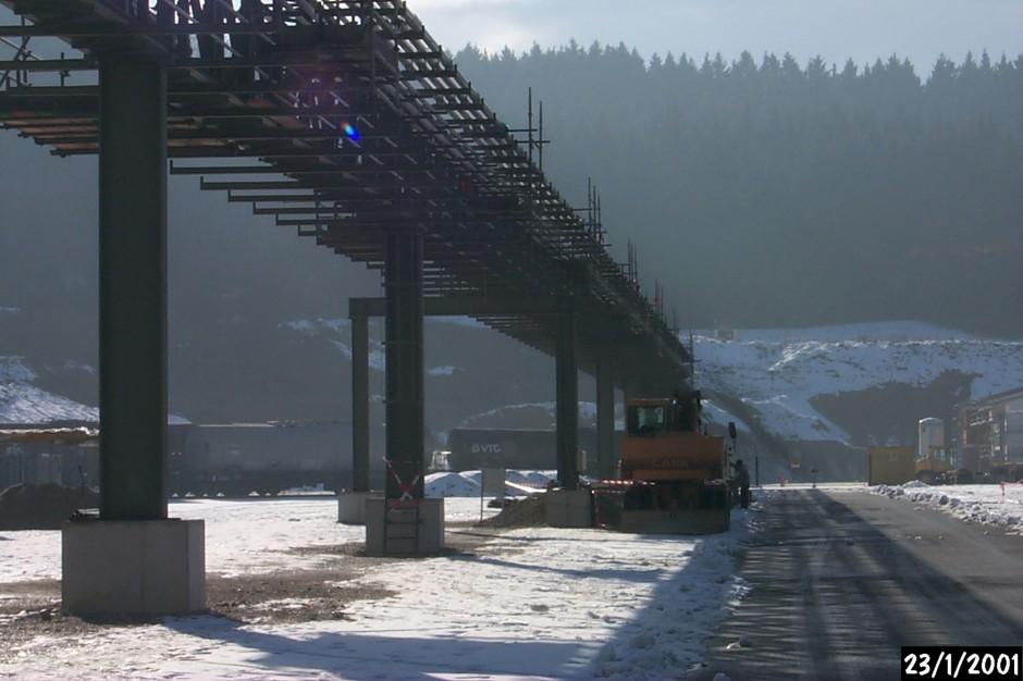 Rohrbrücken Degussa AG |  | Trostberg | Degussa AG - Servicebereich Alzserv, Trostberg | Industriebau | Dr. Kreutz+Partner - Beratende Ingenieure