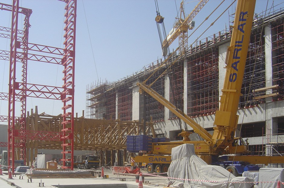 Cargo Mega Terminal |  | Dubai / Vereinigte Arabische Emirate | Siemens AG Logistic and Assembly Systems Airport, Fürth - Bislohe | Industriebau | Dr. Kreutz+Partner - Beratende Ingenieure