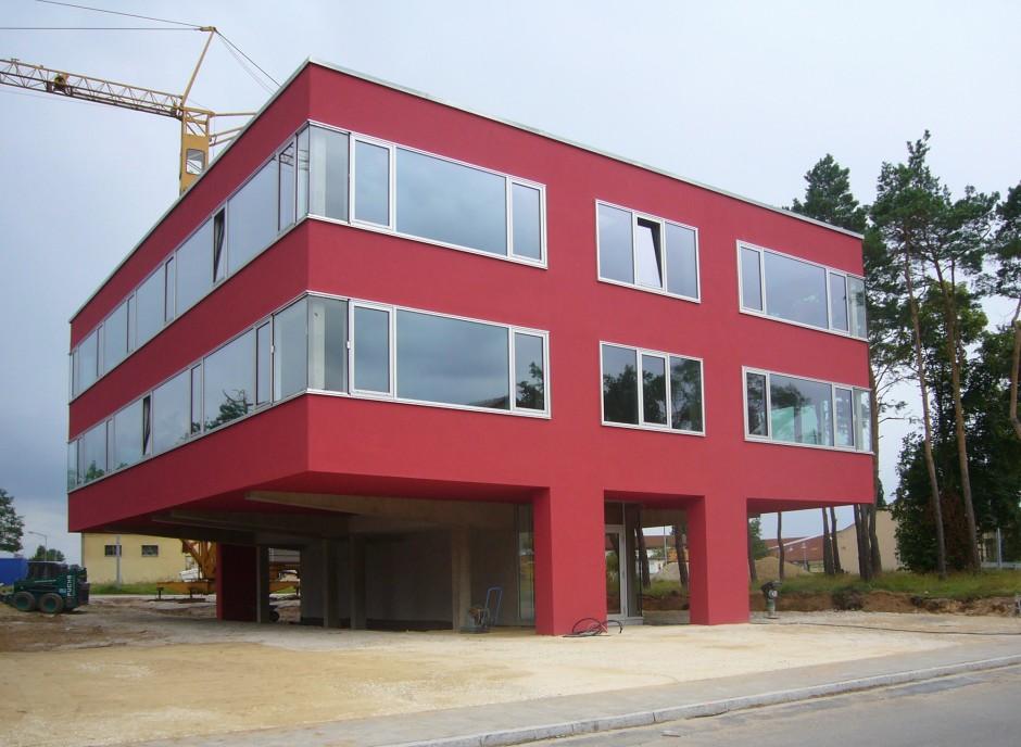 Bürohaus Schredl | Harlé Architekt, Fürth | Fürth | Willy Schredl, Nürnberg | Hochbau | Dr. Kreutz+Partner - Beratende Ingenieure