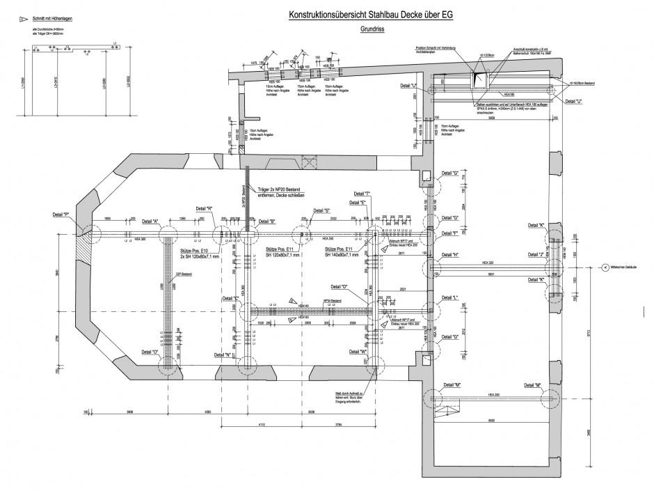Umbau ehemalige Kirche | netzwerkarchitekten, Darmstadt | Hockenheim | Evangelischer Kirchengemeinderat Hockenheim | Hochbau, Umbau | Dr. Kreutz+Partner - Beratende Ingenieure