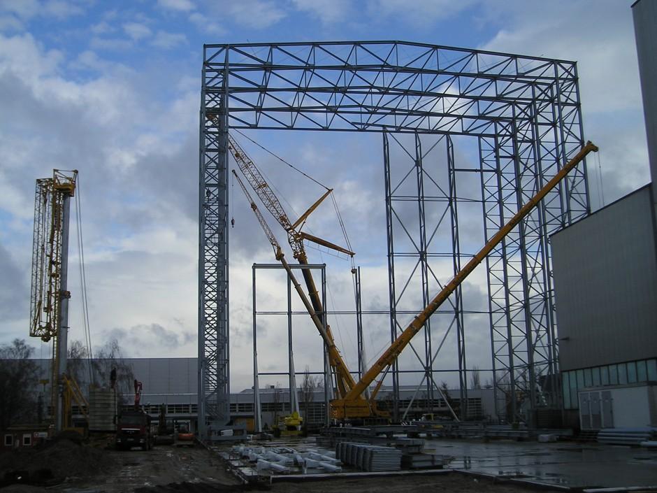 Neubau Prüffeld Nord |  | Nürnberg | Siemens KASSIA GmbH - vertr. durch Siemens AG Real Estate SRE | Industriebau | Dr. Kreutz+Partner - Beratende Ingenieure