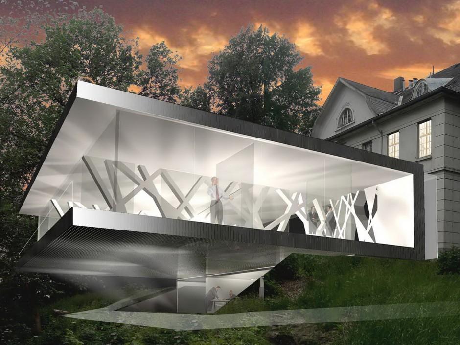 Umnutzung und Erweiterung der Plang´schen Villa im Heine-Park -