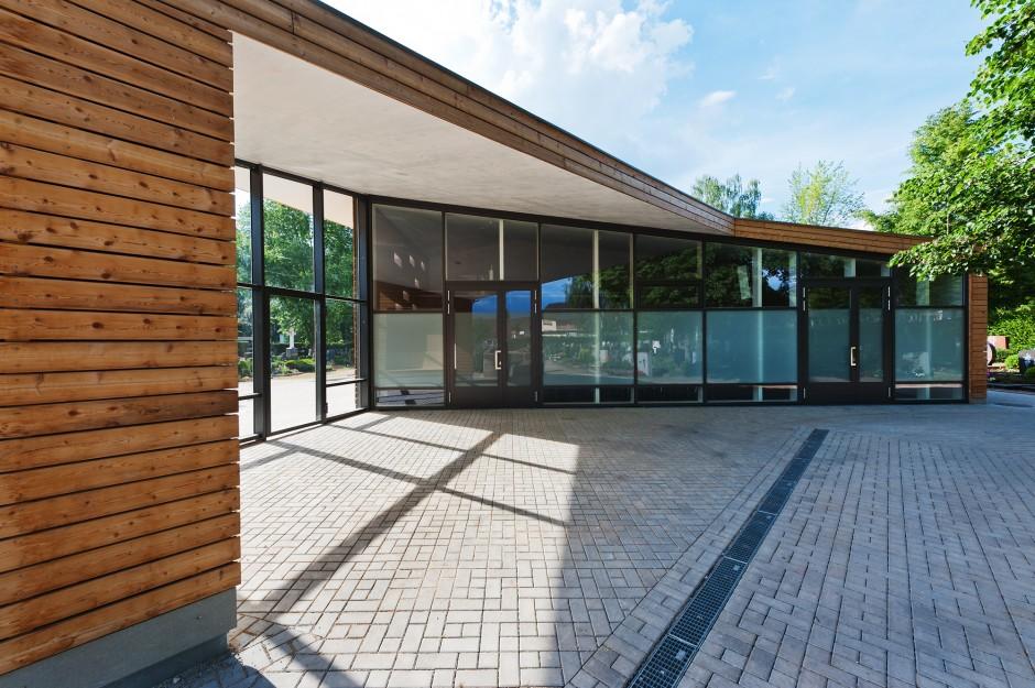 Aussegnungshalle Katzwang | raum3 architekten, Nürnberg | Nürnberg | Evang.-Luth. Kirchengemeinde Katzwang, Nürnberg | Hochbau | Dr. Kreutz+Partner - Beratende Ingenieure
