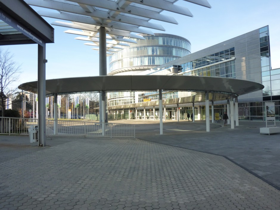 Vordach Messe Nürnberg | stm°architekten, Nürnberg | Nürnberg | Nürnberg Messe GmbH | Industriebau, Sonderbau | Dr. Kreutz+Partner - Beratende Ingenieure