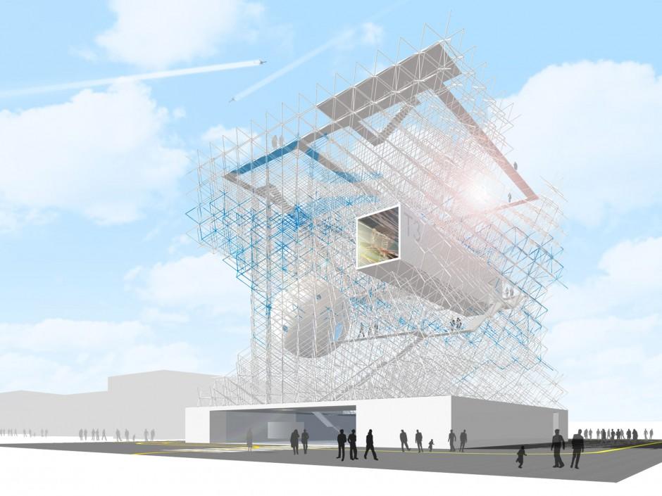 Cosmos Fraport – Flughafen Frankfurt | netzwerkarchitekten, Darmstadt | Frankfurt am Main | Fraport AG | Wettbewerbe, Sonderbau | Dr. Kreutz+Partner - Beratende Ingenieure