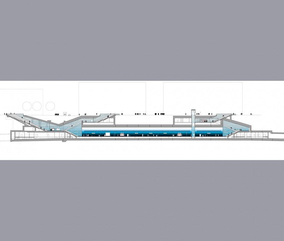 U-Bahnhof Überseequartier | netzwerkarchitekten, Darmstadt | Hamburg | Hamburger Hochbahn AG | Sonderbau | Dr. Kreutz+Partner - Beratende Ingenieure