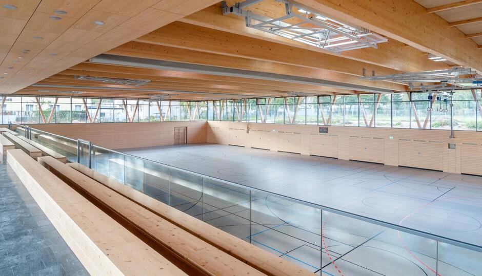 3-fach Turnhalle, Schwabach | Heydorn Eaton Architekten, Berlin | Schwabach | Stadt Schwabach | Hochbau | Dr. Kreutz+Partner - Beratende Ingenieure