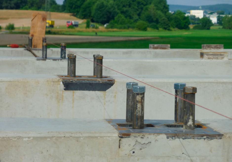 Neubau einer Siloanlage | Maier AG, Pommersfelden | Gremsdorf | Litz Mühle, Gremsdorf | Industriebau, Sonderbau | Dr. Kreutz+Partner - Beratende Ingenieure