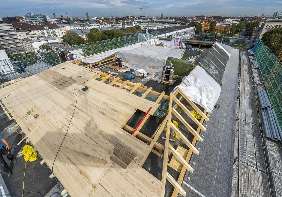 Aufstockung Wohn- und Geschäftsgebäude | Lynx architecture, München | München | Privater Bauherr | Hochbau, Umbau | Dr. Kreutz+Partner - Beratende Ingenieure