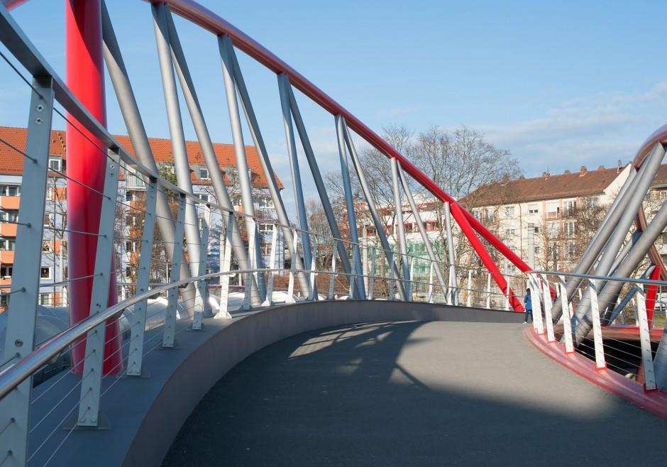 Heistersteg | Leonhardt, Andrä und Partner, Nürnberg | Nürnberg | Servicebetrieb Öffentlicher Raum Nürnberg | Brücken, Prüfung | Dr. Kreutz+Partner - Beratende Ingenieure