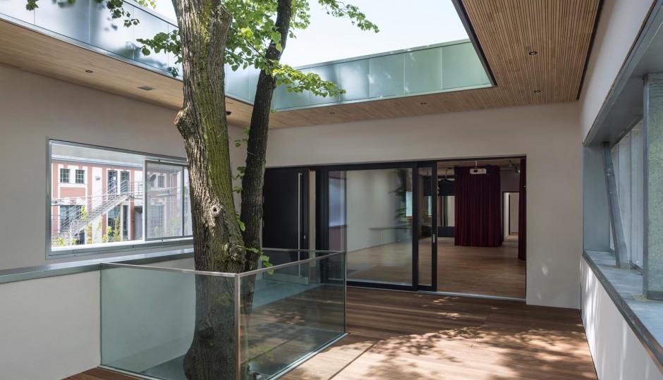 Jugendtreff mit Fahrradwerkstatt | ARGE Markus Gentner Architekten und Bachmann Architekten, Nürnberg | Erlangen | Stadt Erlangen | Hochbau | Dr. Kreutz+Partner - Beratende Ingenieure