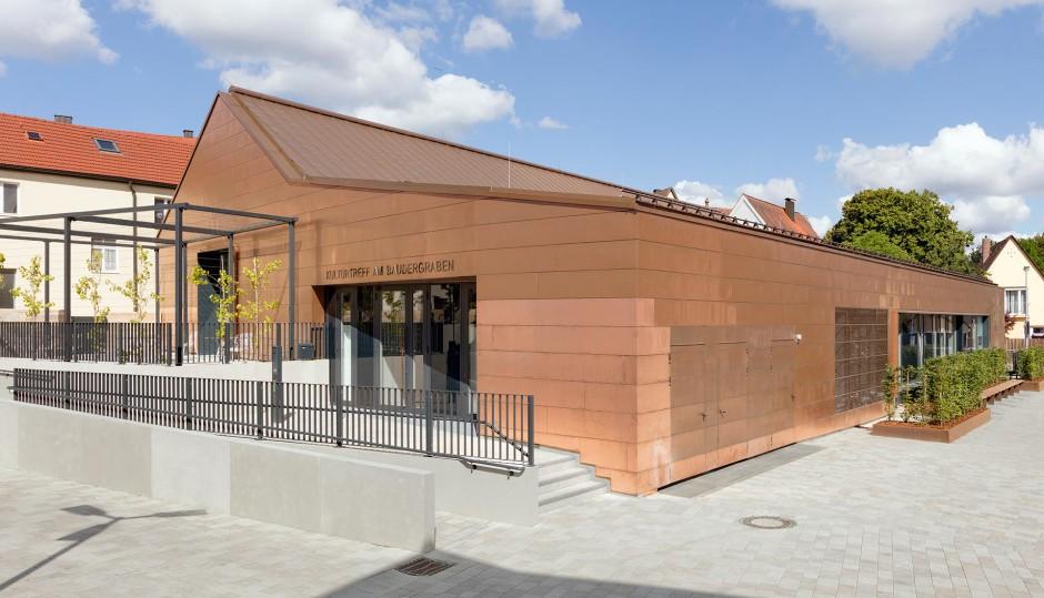 Umbau der alten Stadthalle in eine Bibliothek mit Veranstaltungsraum Altdorf | KJS+ Architekten, Erlangen | Altdorf bei Nürnberg | Stadt Altdorf bei Nürnberg | Hochbau, Umbau | Dr. Kreutz+Partner - Beratende Ingenieure
