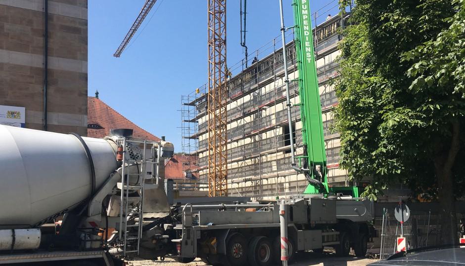 Erweiterung des historischen Staatsarchivs | PWS Architekten, Pforzheim | Bamberg | Staatliches Bauamt Bamberg | Hochbau | Dr. Kreutz+Partner - Beratende Ingenieure