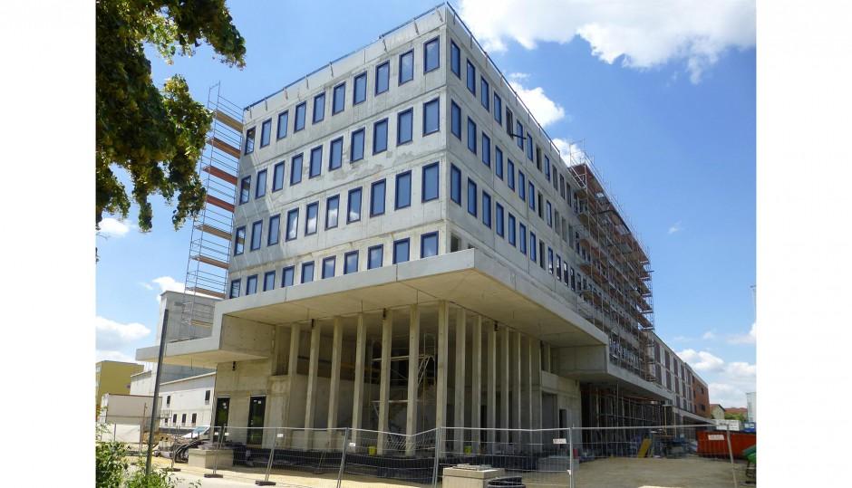 Neubau und Erweiterung Hauptfeuerwache | Diezinger Architekten, Regensburg | Regensburg | Stadt Regensburg | Hochbau, Industriebau | Dr. Kreutz+Partner - Beratende Ingenieure