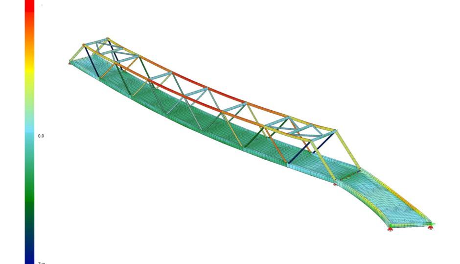 Innerörtliche Talquerung | BBI Ingenieure GmbH, Landshut | Fürth | Stadt Fürth Tiefbauamt | Sonderbau, Brücken, Prüfung | Dr. Kreutz+Partner - Beratende Ingenieure