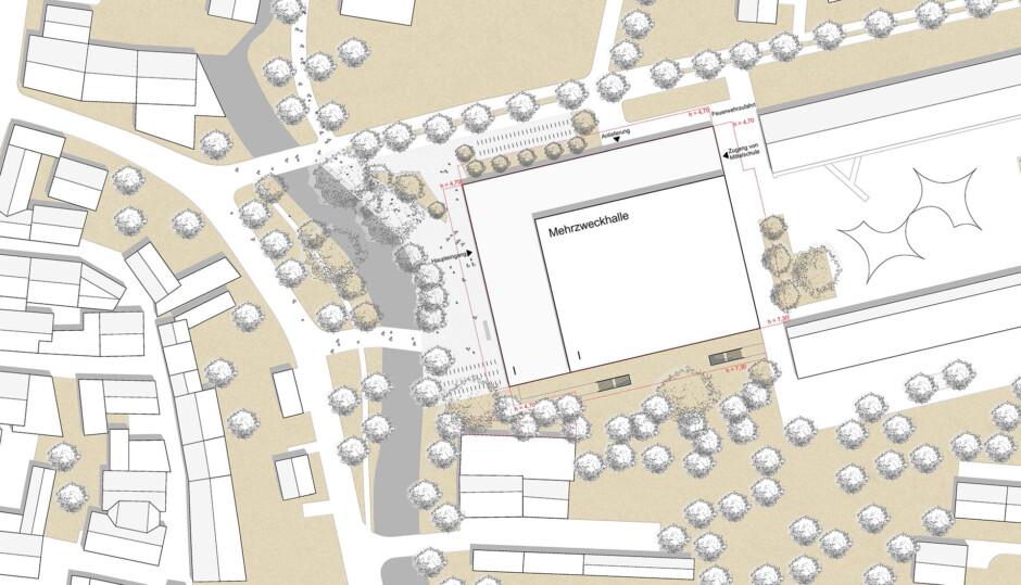 Mehrzweckhalle in Erding | Fuchs und Rudolph Architekten, München | Erding | Stadt Erding | Wettbewerbe, Hochbau | Dr. Kreutz+Partner - Beratende Ingenieure