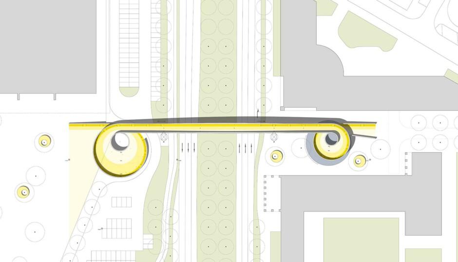 Brücke an der Lindemannstraße in Dortmund | TRAGRAUM Ingenieure PartmbB und netzwerkarchitekten GmbH | Dortmund | Stadt Dortmund | Wettbewerbe, Brücken | Dr. Kreutz+Partner - Beratende Ingenieure