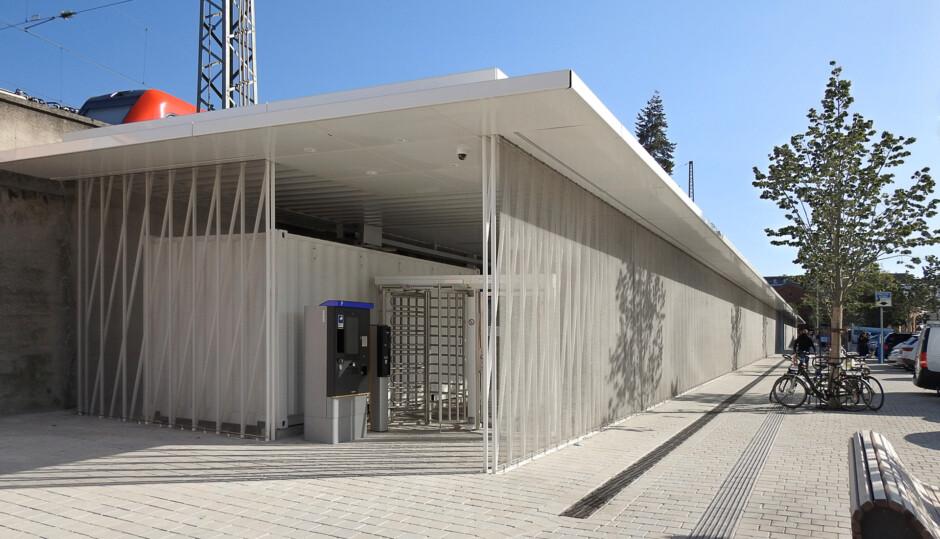 Neubau Fahrradparkhaus | SRAP Sedlak Rissland Architekten, Nürnberg | Nürnberg | Stadt Nürnberg Planungs- und Baureferat | Hochbau, Sonderbau | Dr. Kreutz+Partner - Beratende Ingenieure