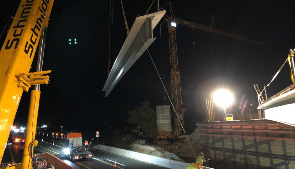 BAB A9 - Behelfsbrücke für BW 378a | Autobahndirektion Nordbayern | Nürnberg-Fischbach | Autobahndirektion Nordbayern | Brücken, Prüfung | Dr. Kreutz+Partner - Beratende Ingenieure