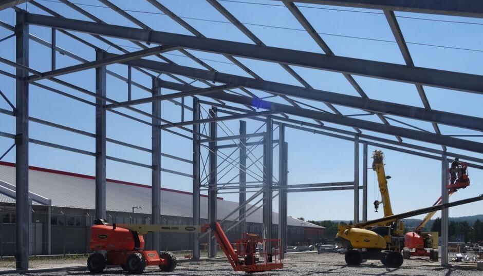 Errichtung eines Rechenzentrums |  | Falkenstein | Privater Bauherr | Prüfung | Dr. Kreutz+Partner - Beratende Ingenieure