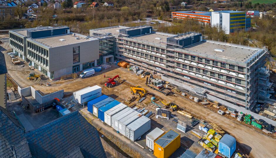 Neubau Berufsbildungszentrum BBZ | Gunther Benkert Architekten, München | Münnerstadt |  | Hochbau | Dr. Kreutz+Partner - Beratende Ingenieure