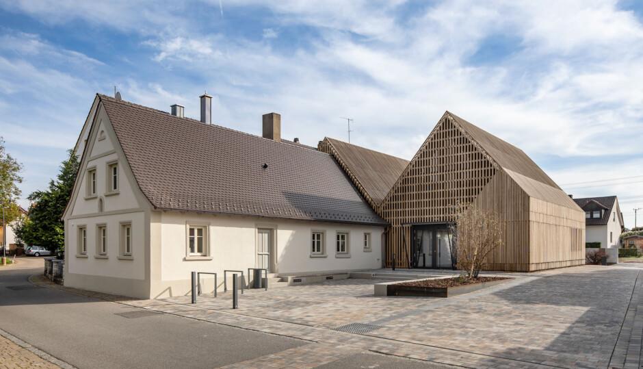 Gemeindebibliothek Gundelsheim | Schlicht Lamprecht Architekten, Schweinfurt | Gundelsheim | Gemeinde Gundelsheim | Wettbewerbe, Hochbau, Umbau | Dr. Kreutz+Partner - Beratende Ingenieure