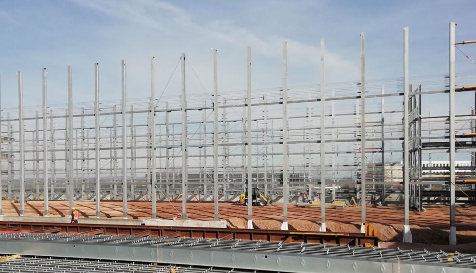 Parkhaus in Stahlverbundkonstruktion | jb architekten gmbh, Nürnberg | Ursensollen | Landratsamt Amberg-Sulzbach | Industriebau, Prüfung | Dr. Kreutz+Partner - Beratende Ingenieure